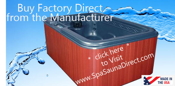 Save money on a hot tub by buying factory direct