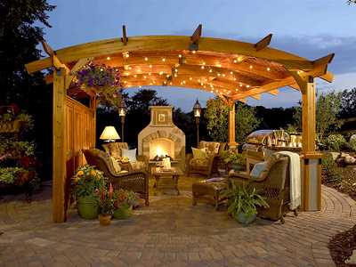 pergola patio kit